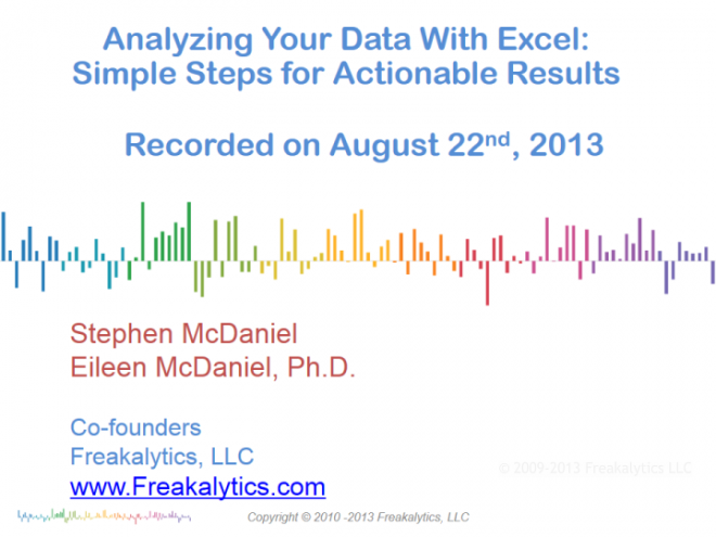 201308_Excel_and_ 7Cs_Webinar_by_Freakalytics_001