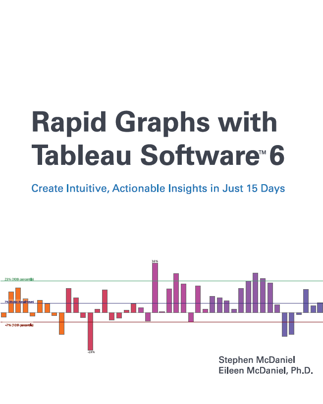 Rapid Graphs with Tableau Software 6